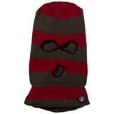 Volcom Red Stripe Bandit Mask Balaclava