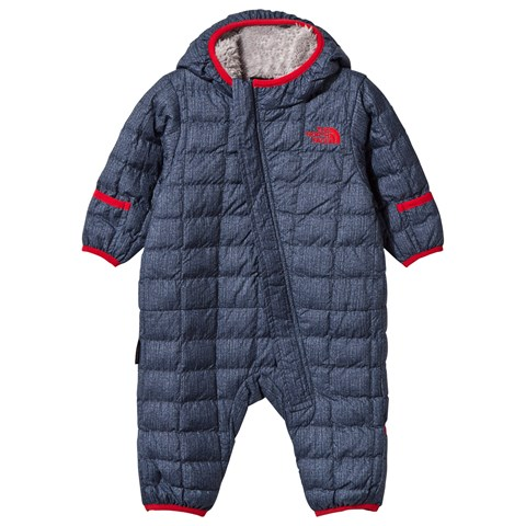 9f7aefee0 The North Face Denim Print Infant ThermoBall Snowsuit | AlexandAlexa