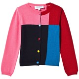 Simonetta Colour Block Knit Cardigan