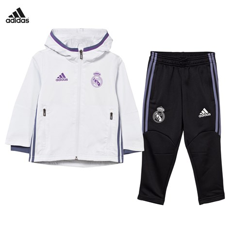 Real Madrid Pre Match Infants Tracksuit