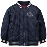 Gant Navy and Burgundy Reversible Varsity Jacket