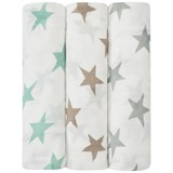 Aden + Anais Pack of 3 Milky Way Silky Soft Swaddles