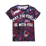 Little Eleven Paris May The Force Be With You Printed T-Shirt