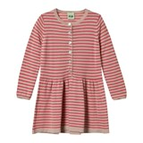 FUB Beige and Pink Striped Dress
