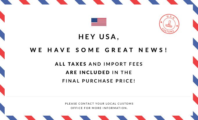 Hey USA! We have som great news!