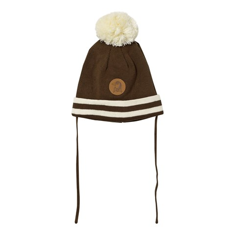 Stripe Hat Brown