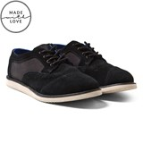 Toms Black Suede Brogues