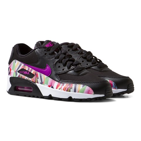 nike air max 90 print junior trainers