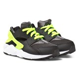 Nike Black and Neon Huarache Run Toddler Trainers