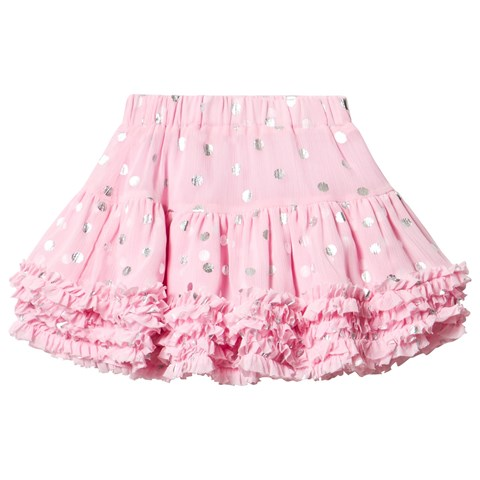 Pink and Silver Spot Tutu