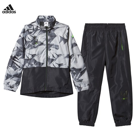 Grey and Black Messi Tracksuit