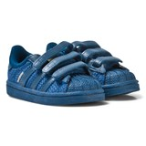 adidas Originals Blue Infants Superstar Trainers
