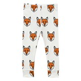 Tobias & The Bear White Just Call Me Fox Leggings
