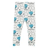 Tobias & The Bear White Mr. Daydream Leggings
