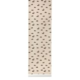 ferm LIVING Rose Pink Rabbit Wallpaper