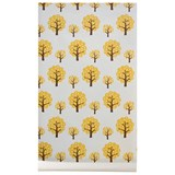ferm LIVING Yellow Dotty Tree Wallpaper