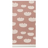 ferm LIVING Rose Pink Cloud Wallpaper