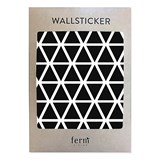 ferm LIVING Black Mini Triangles Wall Stickers