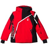 Spyder Red and Black Challenger Ski Jacket