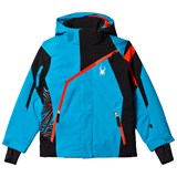 Spyder Blue and Black Challenger Ski Jacket