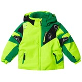 Spyder Green Mini Leader Ski Jacket