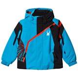 Spyder Blue and Black Mini Challenger Ski Jacket
