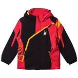 Spyder Red and Black Mini Challenger Ski Jacket