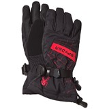 Spyder Black and Red Overweb Ski Glove