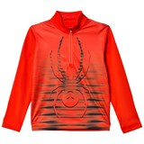 Spyder Red  Powergrade Dry Web 1/2 Zip Baselayer