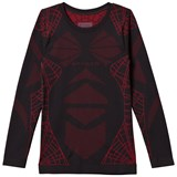 Spyder Black and Red Boy´s Racer Boxed Baselayer Top