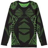 Spyder Black and Green Boy´s Racer Boxed Baselayer Top