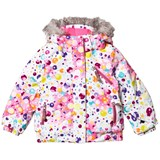 Spyder Multi Coloured Bitsy Lola Ski Jacket