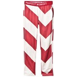 Perfect Moment Red and White Stripe Super Thermal Leggings