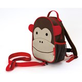 Skip Hop Monkey Zoo Safety Harness Backpack