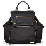 Skip Hop Black Chelsea Downtown Chic Backpack