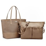 Skip Hop Taupe Duet Changing Bag