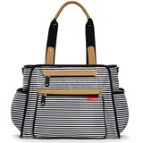 Skip Hop Black Stripe Grand Central Bag