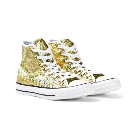 gold sequin converse high tops \u003e Up to