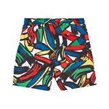 Stella McCartney Kids Taylor Brush Strokes Swim Shorts
