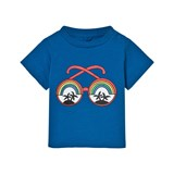 Stella McCartney Kids Blue Rainbow Sunglasses Tee