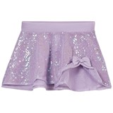 Mirella Lilac Sequin Tulle Skirt with Bow