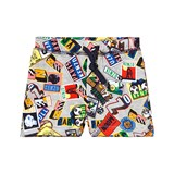 Kenzo Kids All-Over Boarding Pass Sweat Shorts