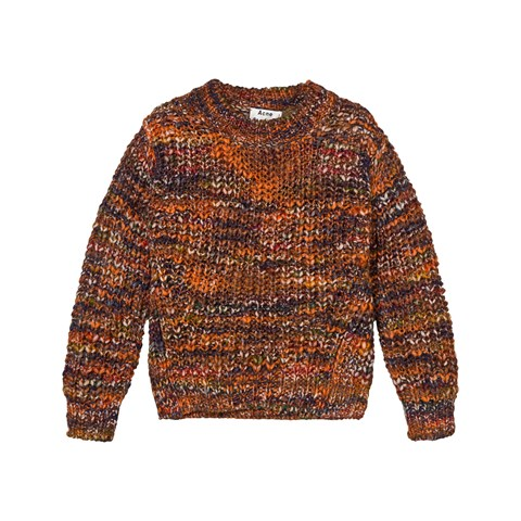 Orange Mix Mini Zora Sweater