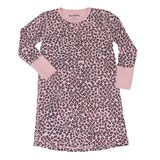 Beau & Rooster Coral Blush Pink Leopard Nightdress
