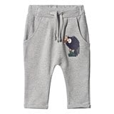 Tao & Friends Grey Vulture Print Baby Sweatpants