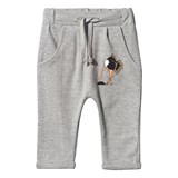 Tao & Friends Grey Buried Ostrich Print Baby Sweatpants