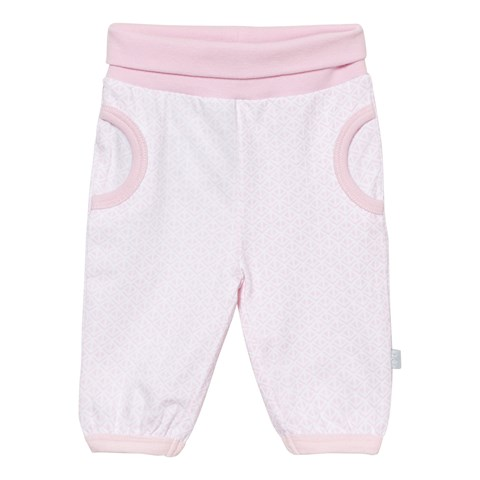Soft Rose Pink Jersey Jogging Trousers