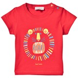 Paul Smith Junior Red Lion Print Tee
