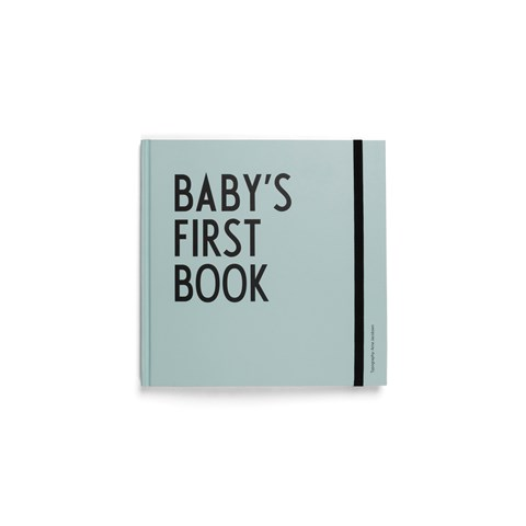 Design Letters Turquoise Baby´s First Book