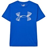 Under Armour Blue Combo Logo Tee